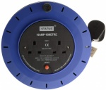 Status 10 AMP 10Mtr 2 Gang Cable Reel