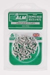 ALM Cropped Head Bolts & Nuts Pk20-For Greenhouse (GH003)