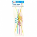 OTL Curly Straw 5pk