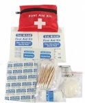 38 Piece 1st Aid Kit In Pouch With Belt Loops 12pc In Tray XXXX