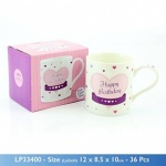 **Discontinued** Celebrations Mug Happy Birthday