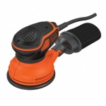 Black & Decker 125mm Paddle Switch Random Orbit Sander