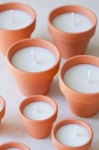 Pretty Pot DIY Candles