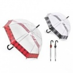 Tartan Border Dome Umbrella
