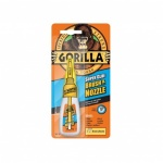 Gorilla 12g 2-in-1 Brush and Nozzle Superglue - Clear