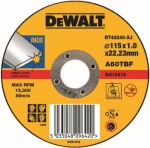 Abrasive Disc 115mm x 1.2mm x 22.23mm INOX CUTTING