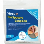 Vitrex 4mm Long Leg Tile Spacers Pk250