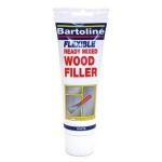 Bartoline Squeezy Tube White Wood Filler 330g.