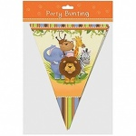 Tri Cut Bunting Jungle Design