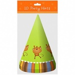 **Discontinued** 10 Party Hats Jungle Design