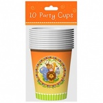 10 9oz Cups Jungle Design