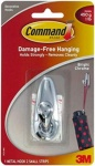 3M Command Small Metal Hook Bright Chrome x (FC11-BC)