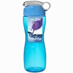 Sistema 645ml Hourglass Drinking Plastic Bottle