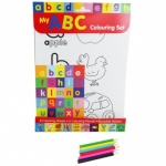 **Discontinued** ABC Colouring Set