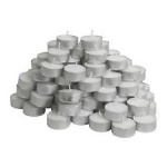 100pk White Tea-Light Candles