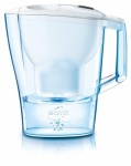 Brita Aluna Cool White Frosted Jug 2.4 Ltr. with one Maxtra Cartridge
