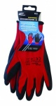 Blackspur Black Crinkle Latex Coated Gloves - XL