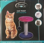 Cat Scratch Post with Ball