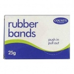 Rubber Bands Box 25gm - No.34