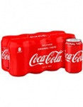 Coca Cola 330ml (English - UK Stock)