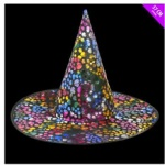 14'' Skull Witches Hat