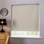 Diffusalite Fabric Roller Blinds Straight-160,Ivory-180cm