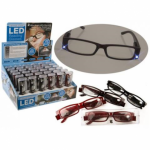 Asstd. Style Reading Glasses - 2 LEDs (058/501)