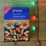 Premier 200 M-A LED Supabright Cable Red & Green LED (LV071255RGR) 16mtrs