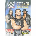 **Discontinued** WWE Sticker Book