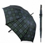 Black Watch Tartan Auto Open Golf Umbrella
