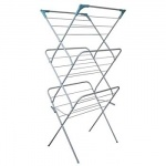 Colt 3 Tier Tubular Airer With Hanging Hooks