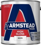 Armstead Trade High Gloss White 2.5Ltr