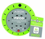 Pifco 4 Gang 5m Casette Reel (PIF2069)