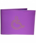 Grained PU Disabled Badge Holder (GHS1498)