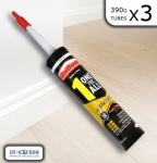 Unibond OneforAll Express 390g bonding sealant white