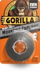 Gorilla 1.5 m Heavy Duty Double Sided Mounting Tape - Black