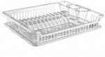 Clear Violet Dish Drainer