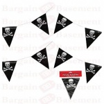 Pirate Bunting 5 M 15 Flags