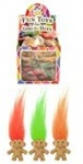 Troll With Hair 3.5cm- 3 Assorted Colours