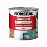 Ronseal All Surface Primer & Undercoat White 250ml