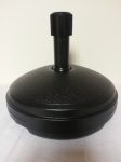 7Ltr Round Parasol Base - Black