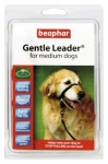 Beaphar Gentle Leader Black For Medium Size Dogs Helps Train Dogs To Stop Pulling On Lead