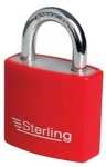 40mm Aluminium Padlock Coloured Sleeve