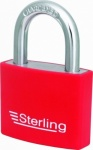 50mm Aluminium Padlock Coloured Sleeve
