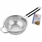 Tala Stainless Steel Strainer with Soft Grip Handle 16.5cm