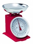 Terrallion  H500 Red 5kg Capacity Traditional Mechanical Kitchen Scale