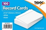 Record / Revision Cards 6 x 4''