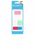Erasers Pack 5