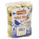 Kingfisher 6 Pack of Suet Fat Balls [BF6UB]