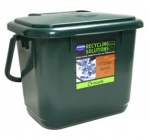Addis Kitchen compost caddy Green
